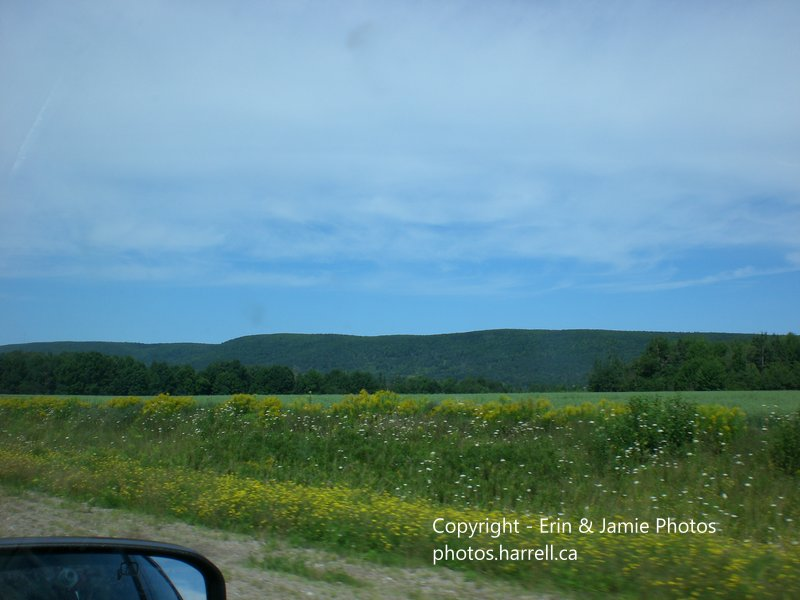 Approaching Annapolis Royal